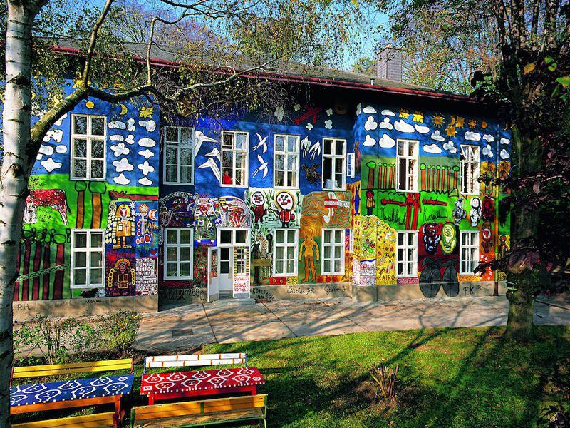 Haus der kunstler ostfassade