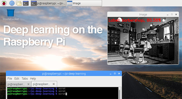 Raspberry pi deep learning header
