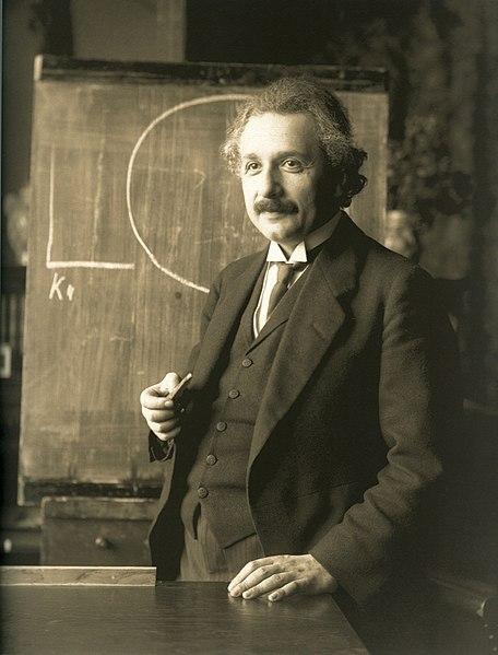 456px Einstein 1921 by F Schmutzer restoration