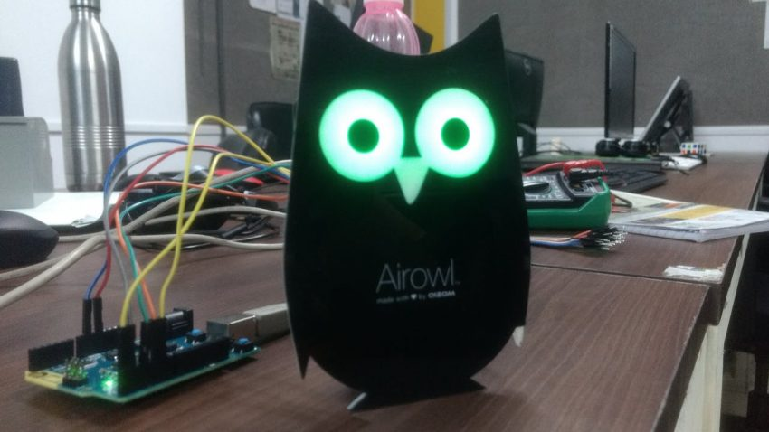 AirOwl Arduino Air Quality Monitor