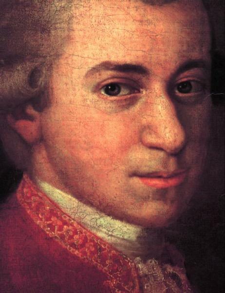 Croce Mozart Detail