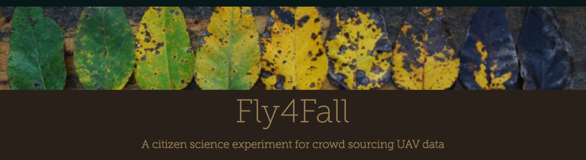 Drone crowd source Citizen science Fall foliage