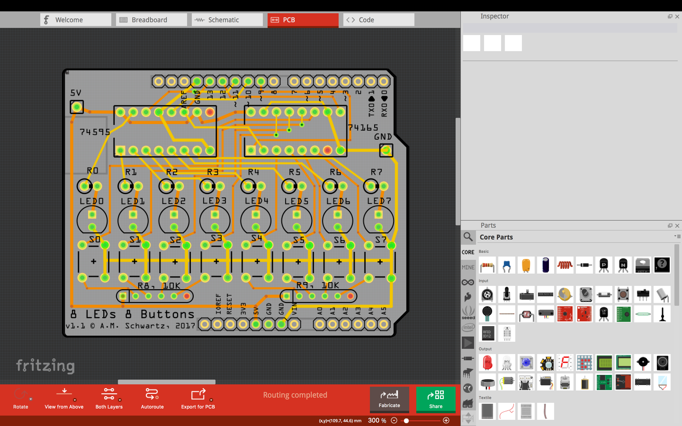 Fritzing PCB \'Concept to Design to Fabrication\' – with Lots of TIPS ...