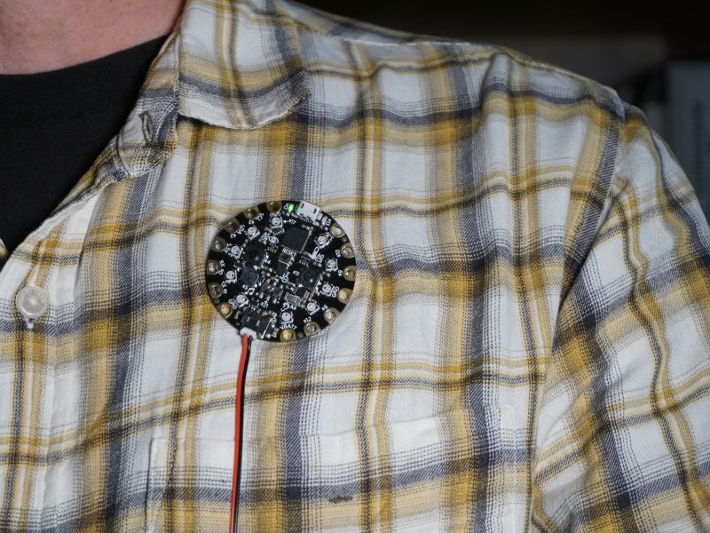 Adafruit Slouch Detector