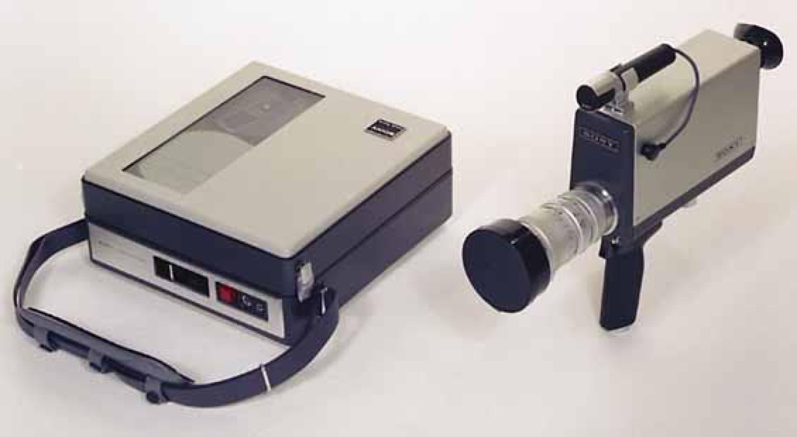 Sony Av-3400 Porta Pak Camera