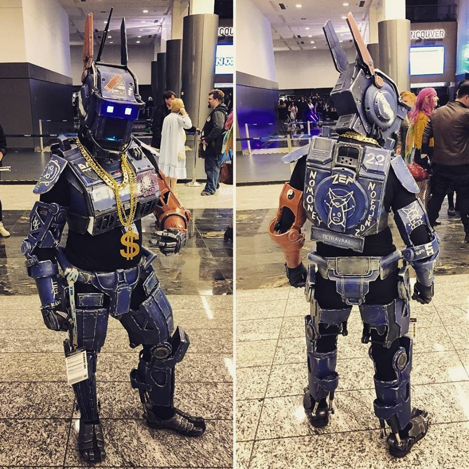 Arduino: A Chappie Costume From Cardboard To Completion « Adafruit