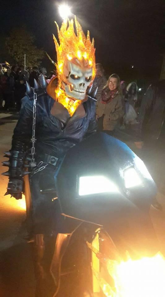 An Incredibly Fiery Ghost Rider Costume  U00ab Adafruit Industries  U2013 Makers  Hackers  Artists