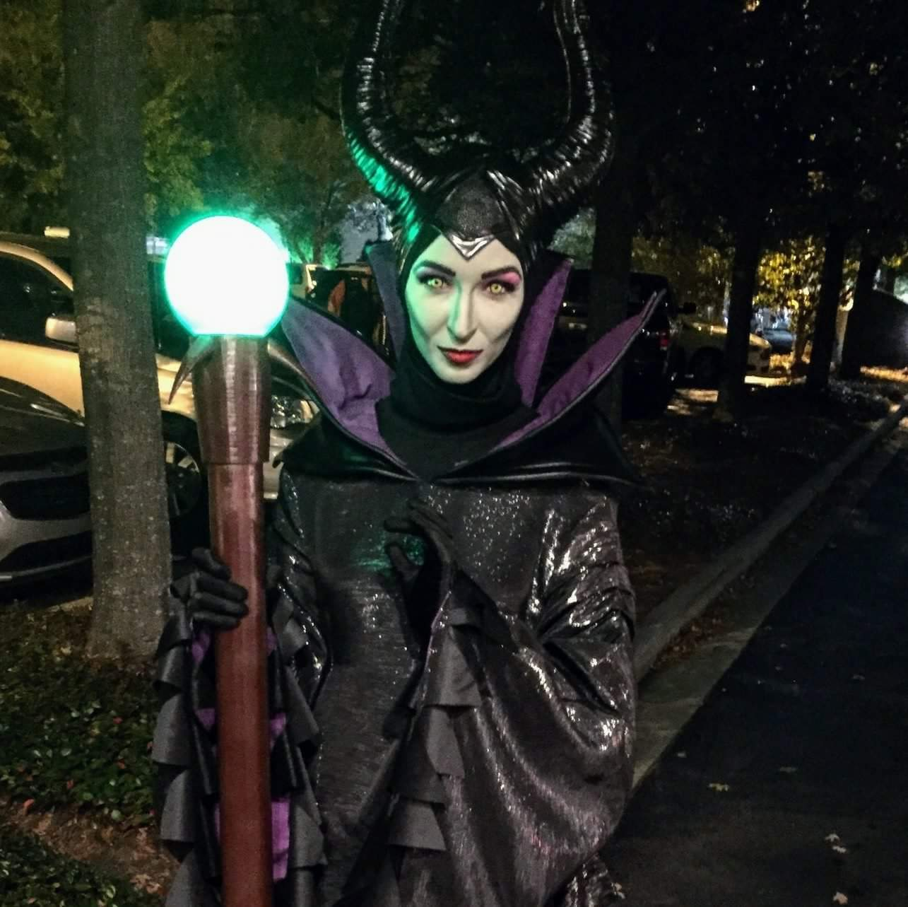 Animated Maleficent Costume Can Light Up The Night