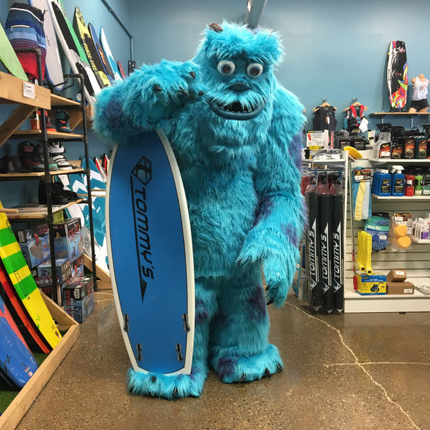 How To Make A Furry Monsters Inc Sully Cosplay 171 Adafruit