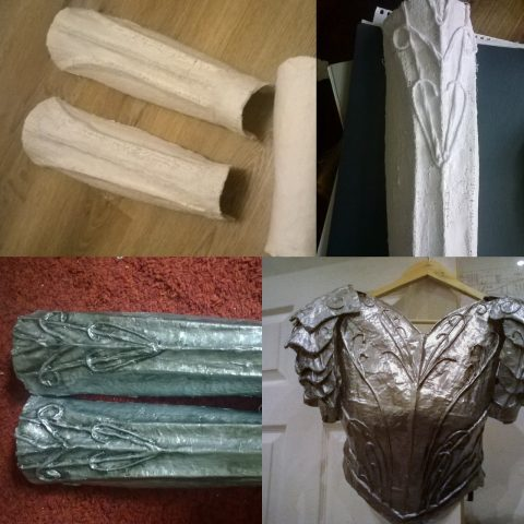 Budget-Friendly Cosplay Armor Made from ModRoc Plaster of
