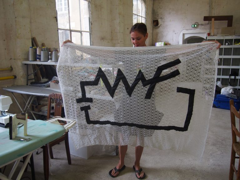 Wicked Fabric Flag