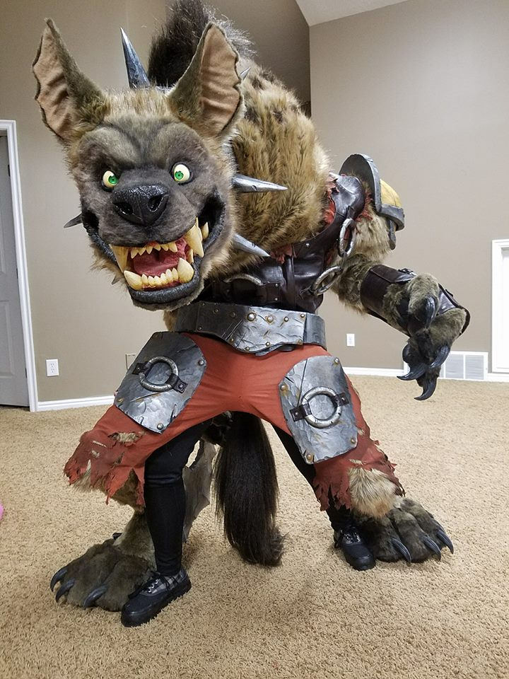 Cables And Sensors >> The World of Warcraft Won the Blizzcon Costume Contest « Adafruit Industries – Makers, hackers ...