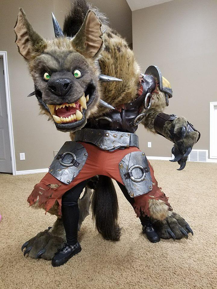 World Of Warcraft Hogger Costume on Raspberry Pi Arduino