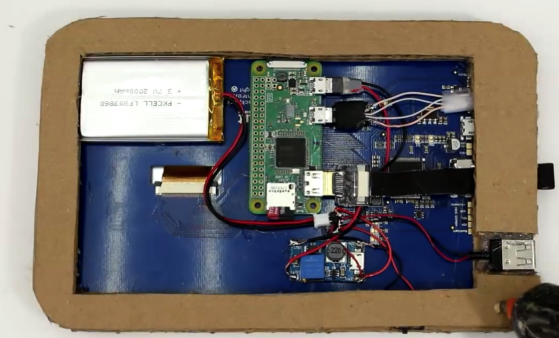 Build Yourself a Cardboard Framed Raspberry Pi Tablet for Under 60