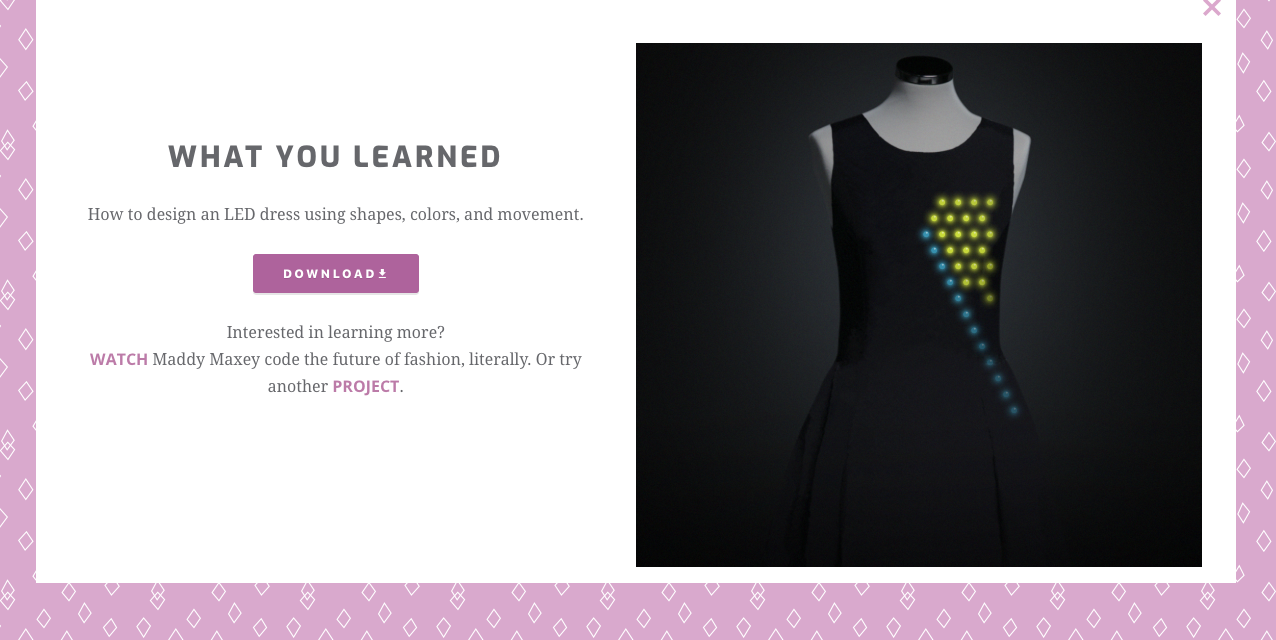 Fashion Made with Code Project 2