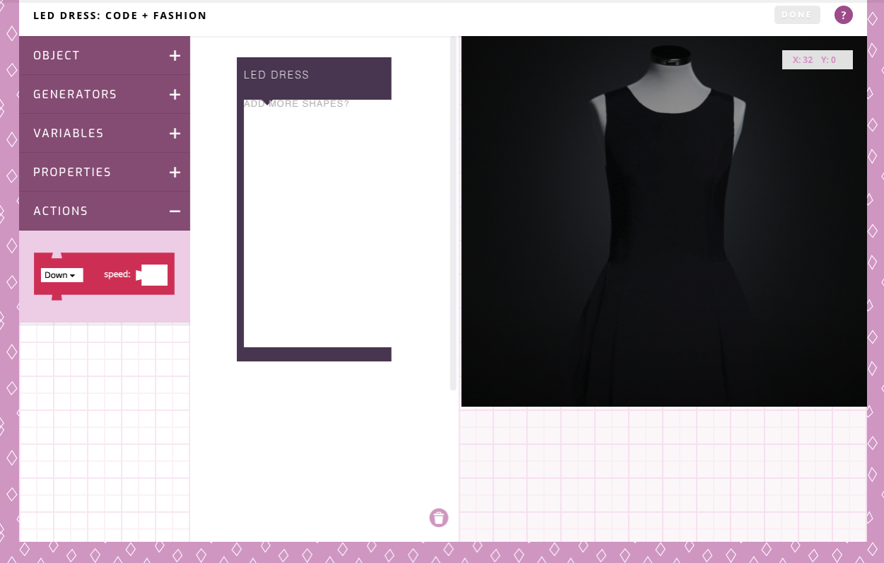 Fashion Made with Code Project