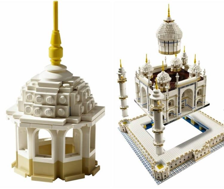 LEGO Taj Mahal 5