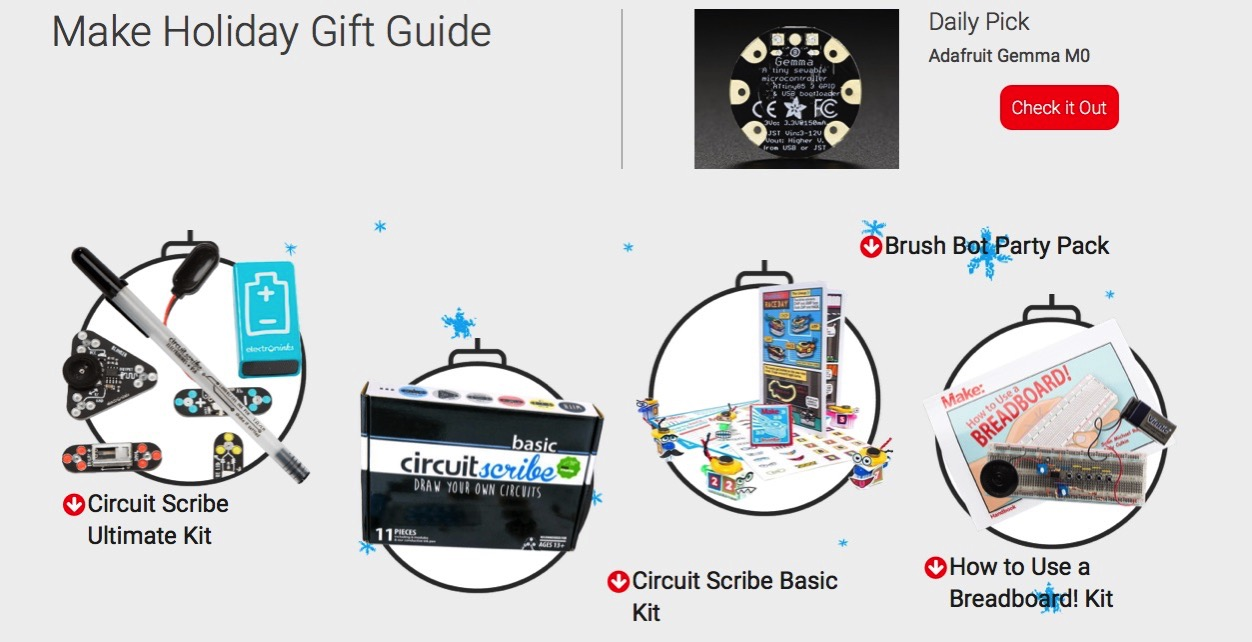 Make Gift Guide 2017 Make DIY Projects and Ideas for Makers
