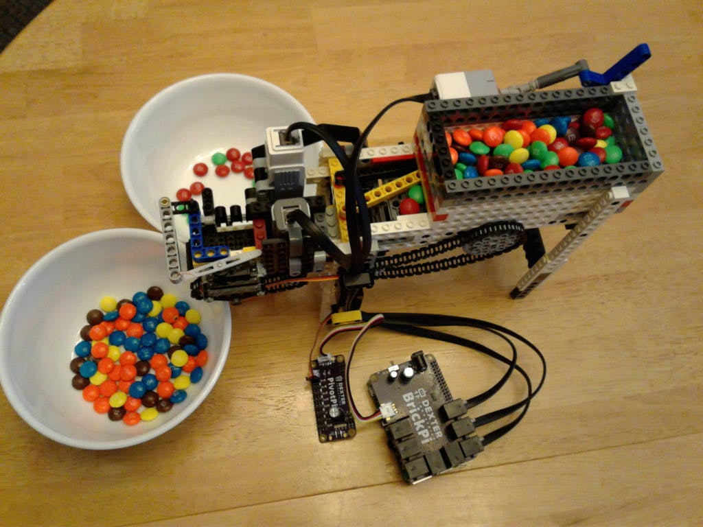 Raspberry Pi MM Color Sorter With Servo 5 1024x768