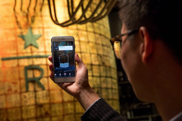 In-Store AR Experience at Starbucks Reserve Roastery in Shanghai