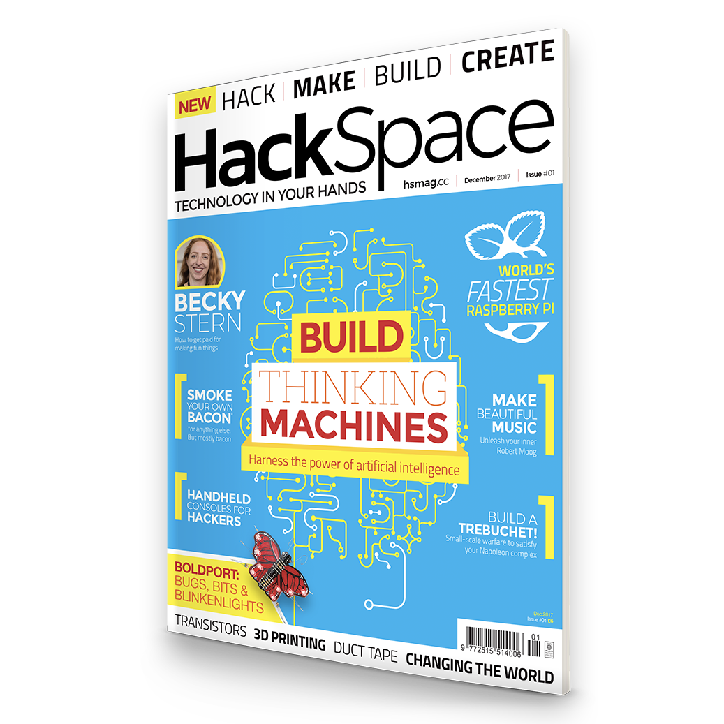 REVIEW: HackSpace magazine – The new monthly magazine for the modern ...