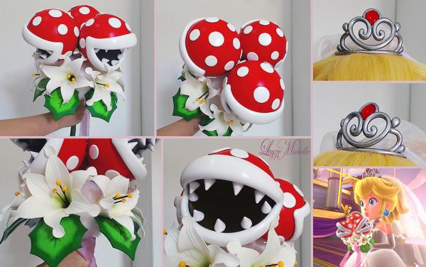 Making Princess Peach S Super Mario Odyssey Piranha Plant