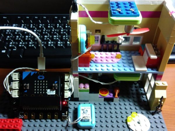 Micro Bit Smart Home Light Fan And Alarm System