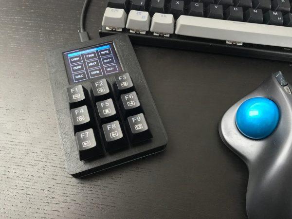 Custom Mechanical Keypad with Display #3DThursday