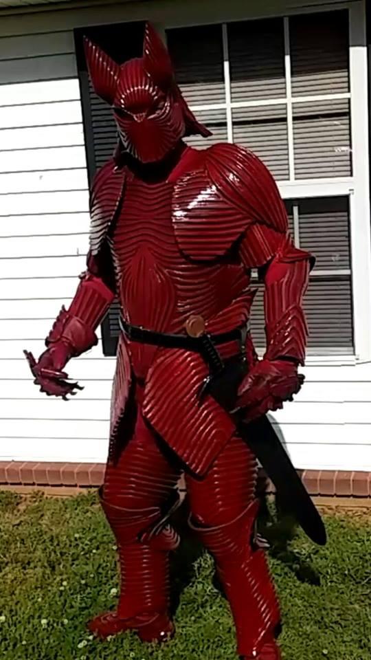 Bram Stoker S Dracula Armor Made From Foam 171 Adafruit