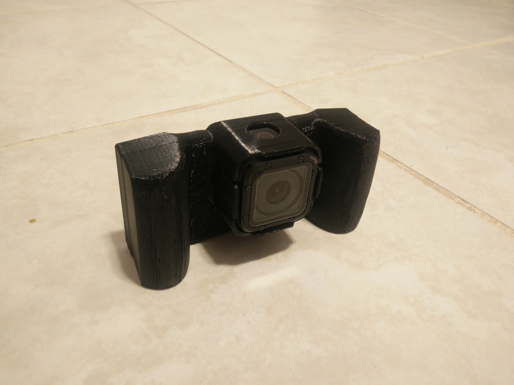 "Gopro hero 5 session ""SLR"" case #3DThursday #3DPrinting"