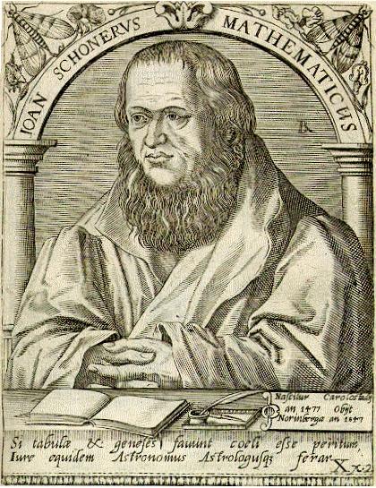 Johannes Schoner Astronomer 01