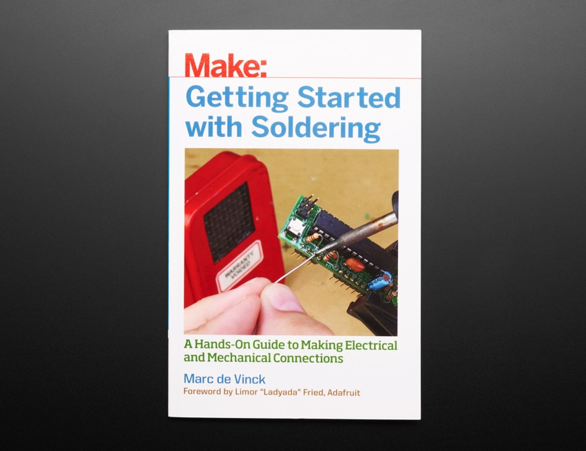 Make Getting Started with Soldering front ORIG 2018 01
