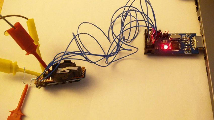 Programming an OLED earring