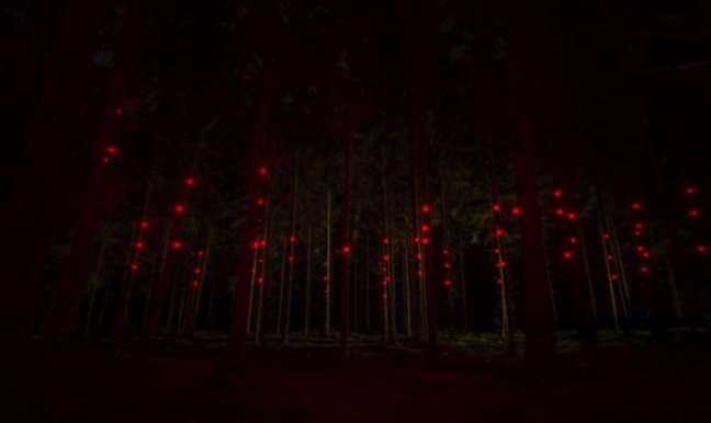 These Enchanting Fireflies Are Actually A Robot Swarm