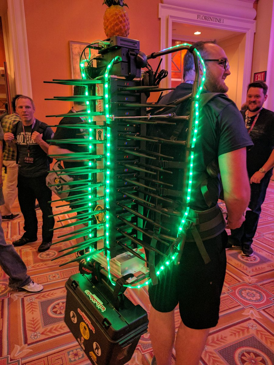 WiFi Cactus at DefCon