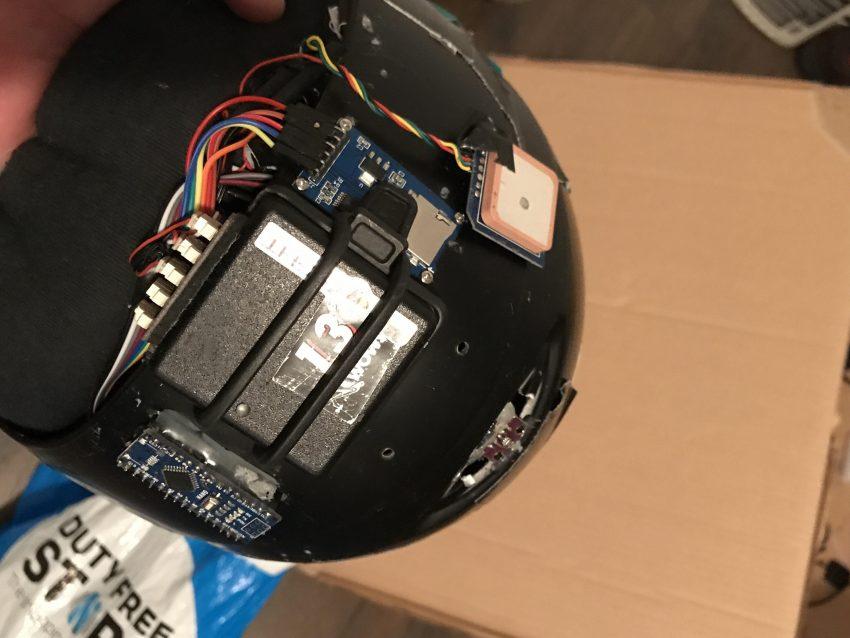Wingsuit Helmet Hack