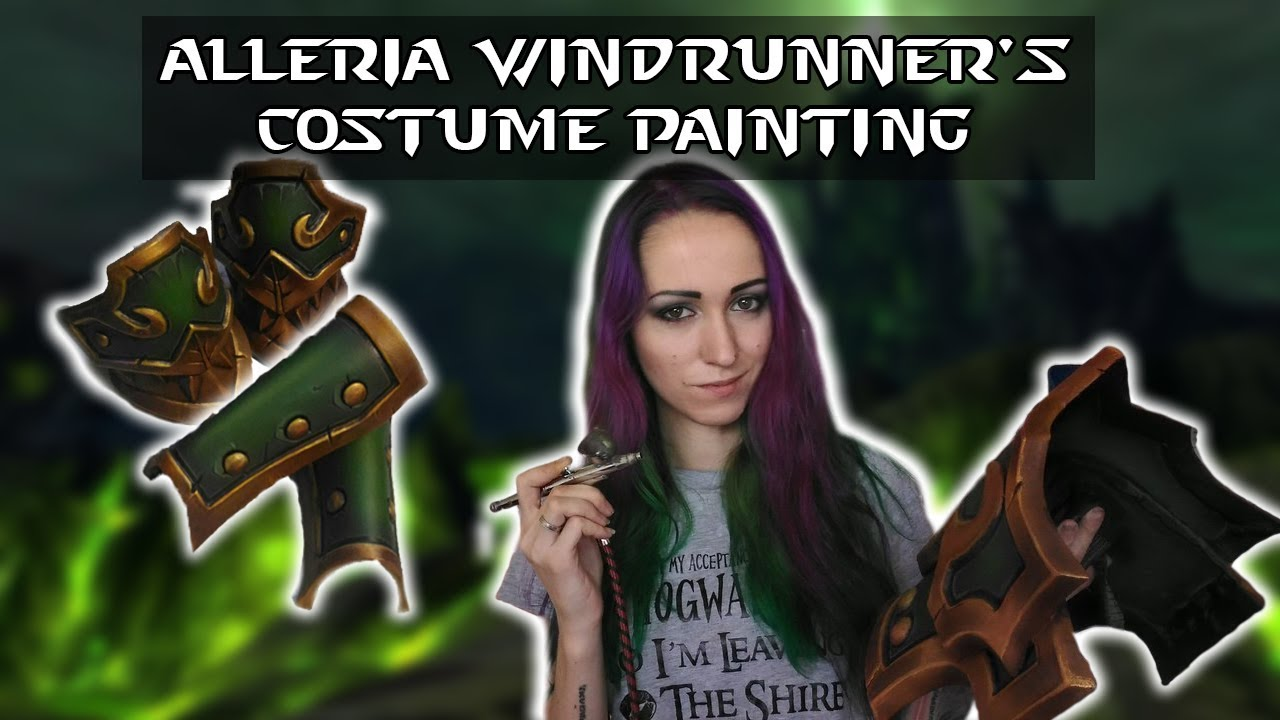Be Hypnotized By Watching A Cosplayer Paint Armor