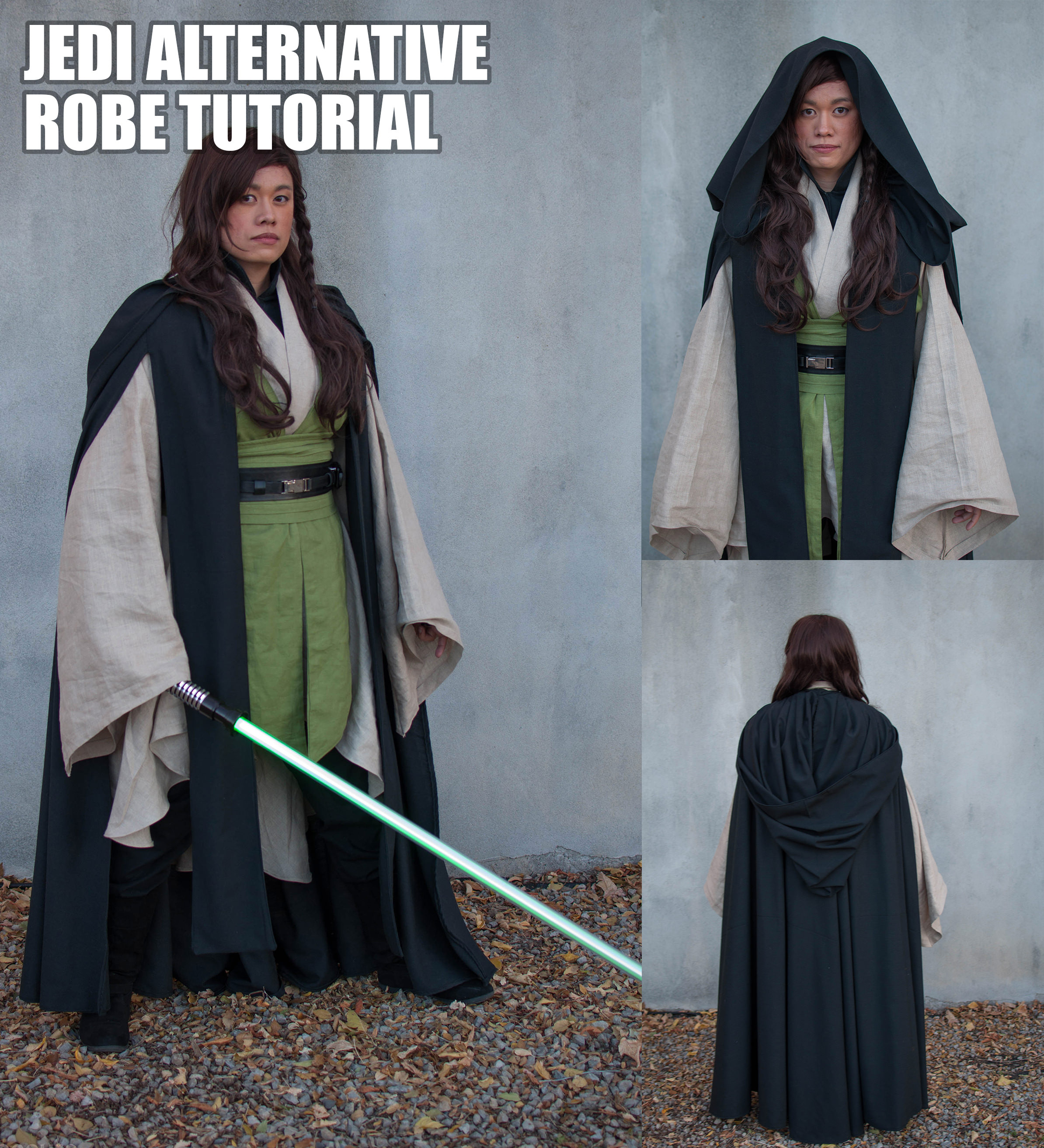 How To Make An Alternative Jedi Robe Adafruit Industries Makers Hackers Artists Designers And Engineers