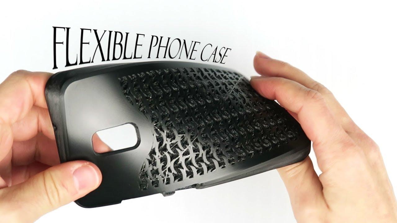 Making a 3d printed flexible phone case 3dthursday for Modelli case 3d