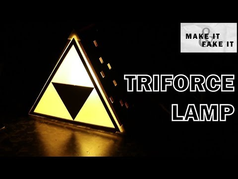 Making A Triforce Lamp With @makeandfake #3DThursday #3DPrinting « Adafruit  Industries U2013 Makers, Hackers, Artists, Designers And Engineers!