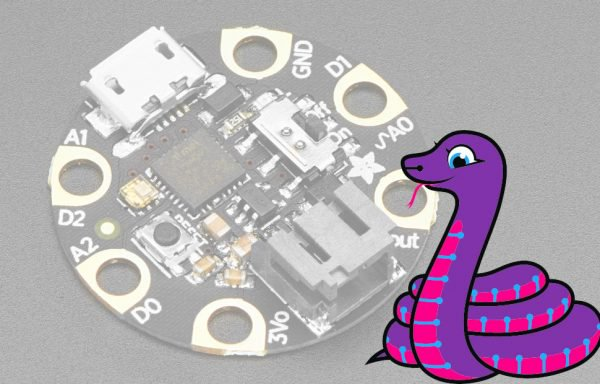 CircuitPython Gemma w Blinka 600x384