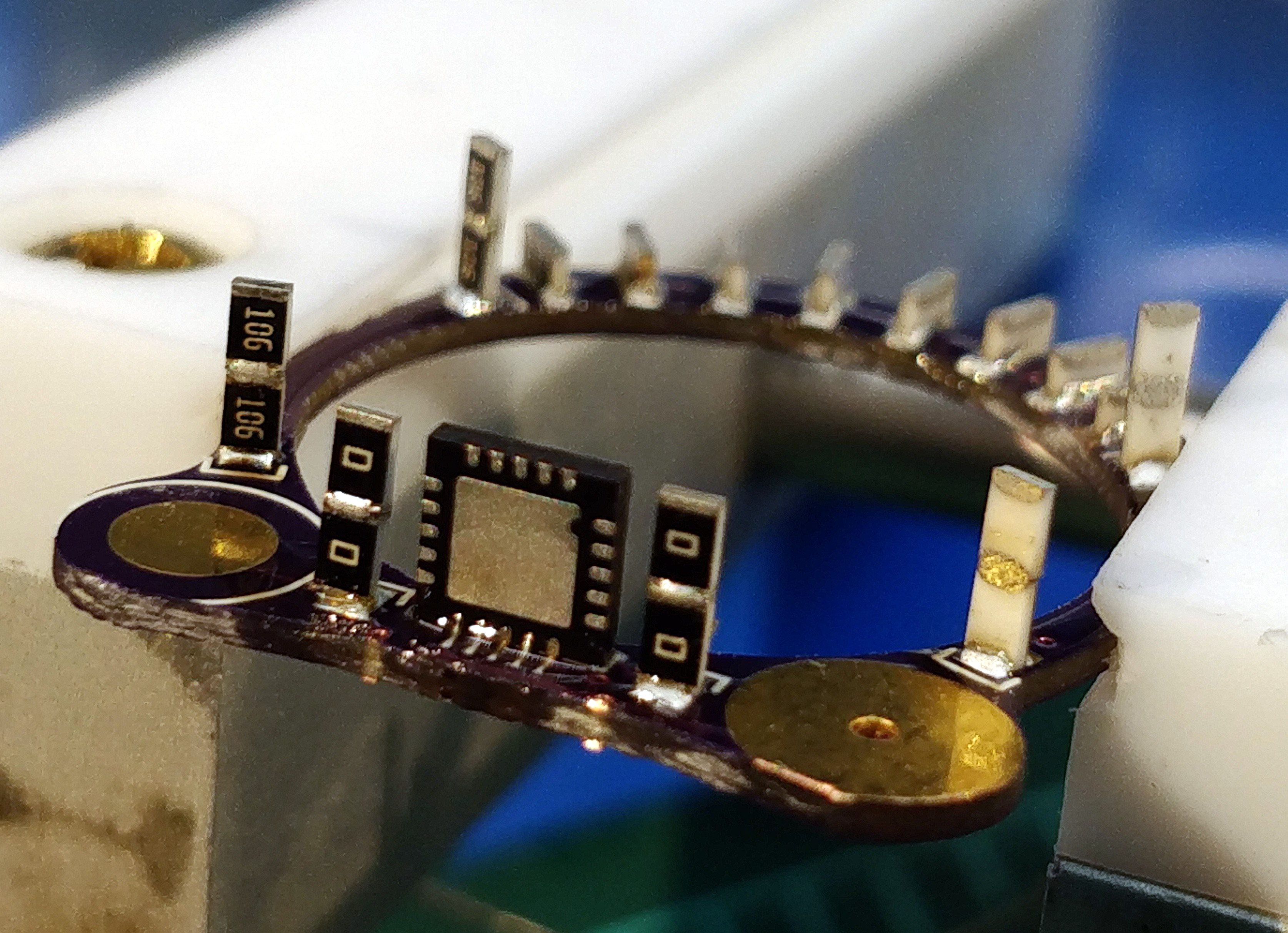 Cyborg Ring Soldering Components