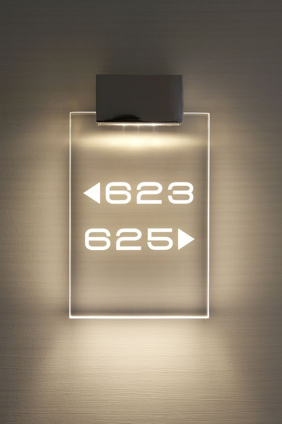 signage room hotel number laser signs sign light led numbers cut interior wayfinding methacrylate projects cutter acrylic cutting lighting aluminium