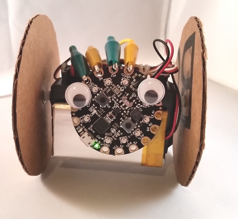 Circuit Playground Robot With Eyes
