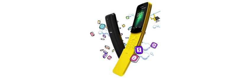 Nokia 8110 bananas phone from the matrix designboom 1800
