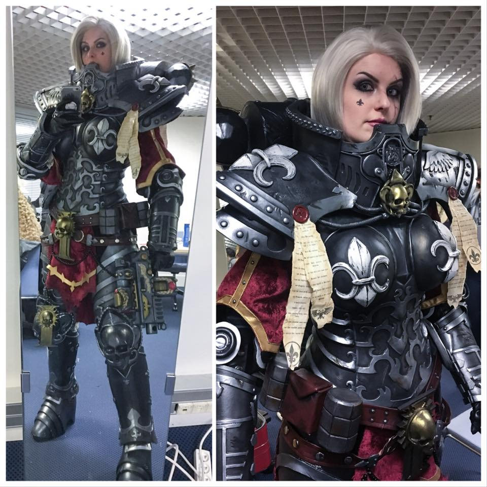 Warhammer 40K Armor That's Ready for a Fight