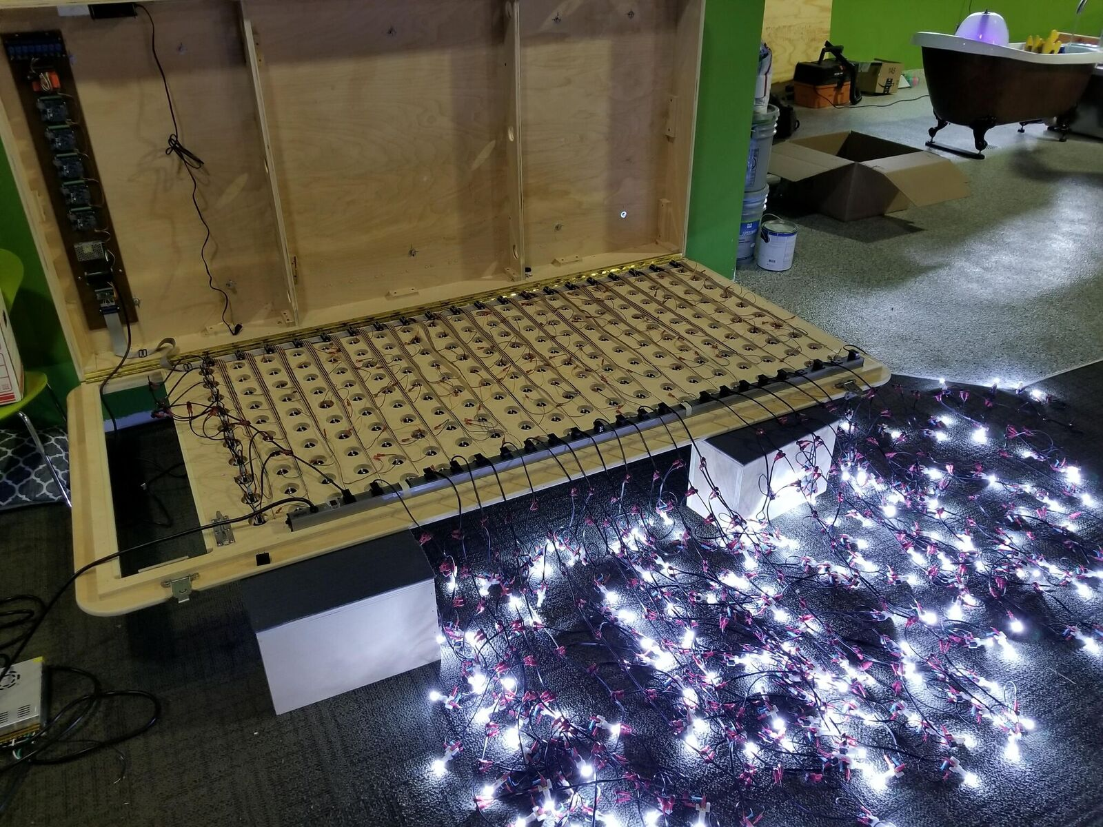 Neopixel Stick Alerts You To Any Nearby Creepers Minecraft Pir Motion Sensor Wiring Diagram For A Besides Chinese Pit Bike Programmable Rgb Led Sequencer