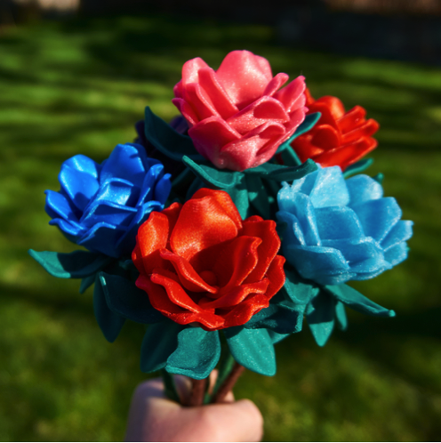 3D Printed Maz s Flower by Rose Moore Pinshape