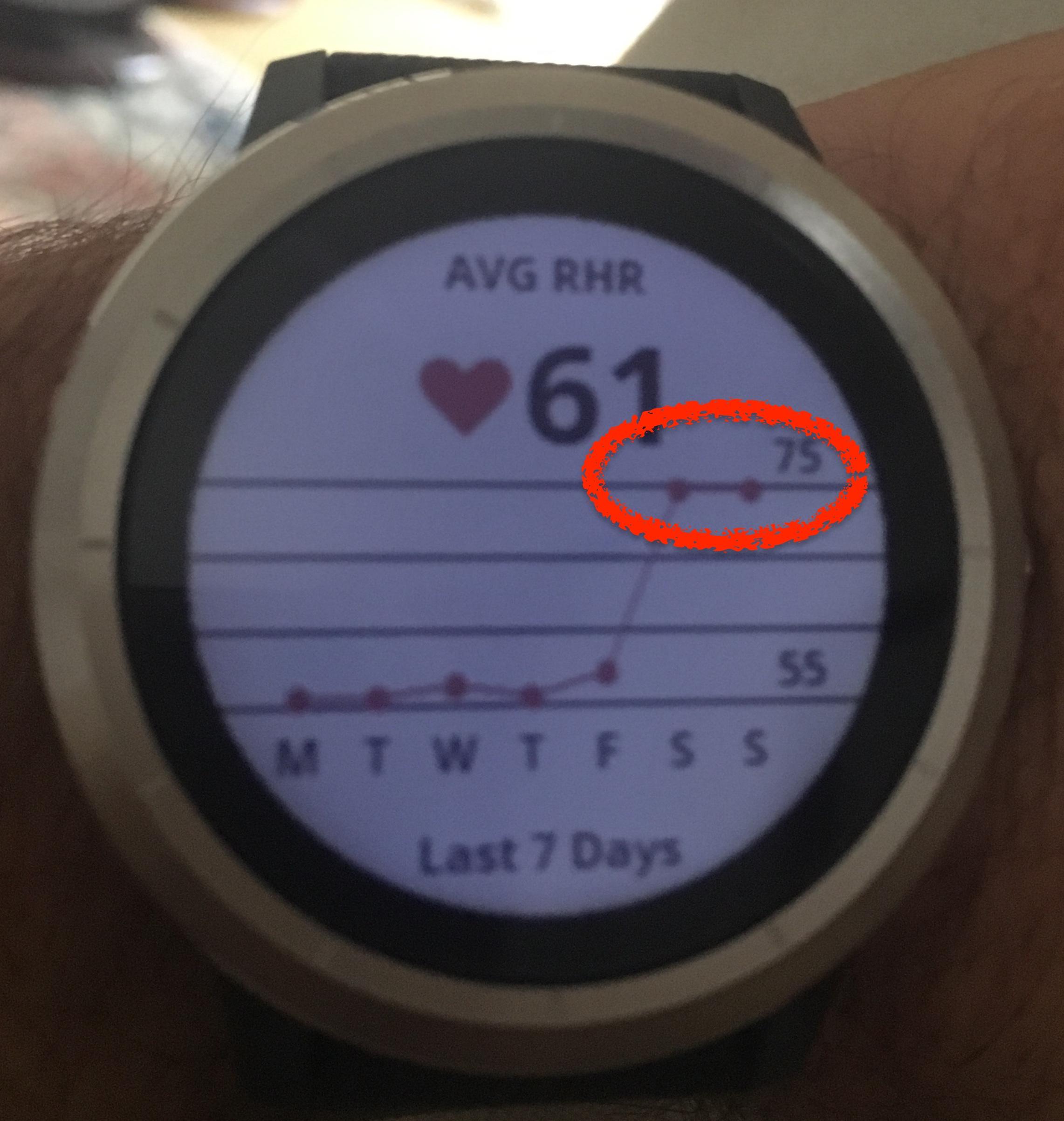 garmin vivoactive 3 resting heart rate cheap online
