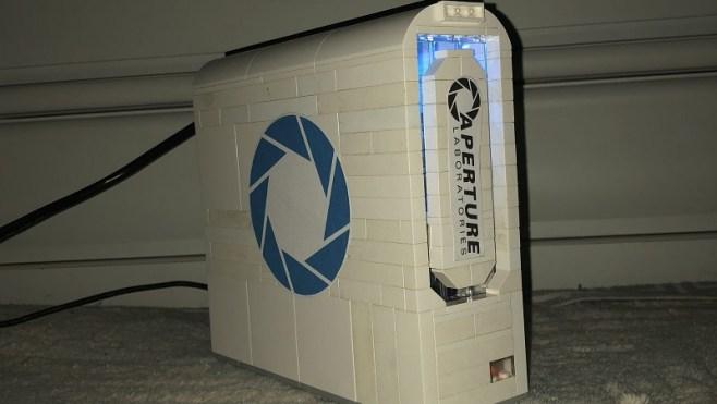 Raspberry Pi Arduino LEGO Portal Case Header